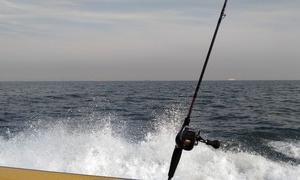 連休中のタチウオ釣り