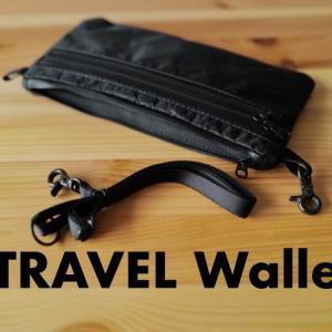 TRAVEL Walletを購入。いつかまた海外旅行できることを期待して。