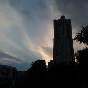 ライカQ2と夏の夕空。