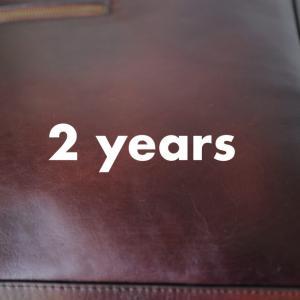 2年使ったMOTHERHOUSE アンティークスクエアバックパック。2度目のメンテを実施。