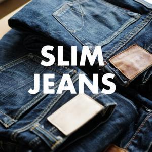 細身でいい色落ちするジーンズを追い求めて十数年。スリムジーンズ9本を紹介。