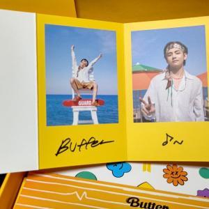 遅ればせながら BTS Butter CD 2個目到着