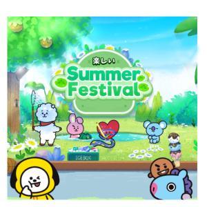 BT21イラスト〜 Summer Festival 〜夏の思い出