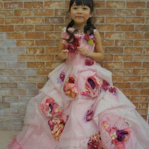 【5歳】ドレスで撮影