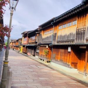 【ひがし茶屋街は早朝に行こう!】金沢遠征お勧めプチ観光