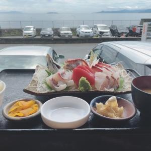 【福浦漁港みなと食堂の刺身定食】東海道本線沿線遠征立ち寄りグルメ