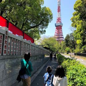 東京タワーと国立科学博物館 4.20