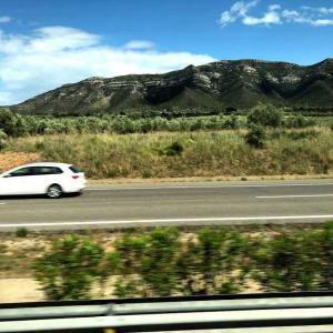 5月のスペイン旅行4日目 グラナダへ バスの楽しみ