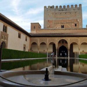 5月のスペイン旅行4日目 アルハンブラ宮殿後半