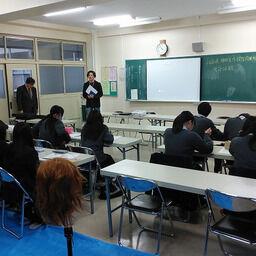 体験プログラム㏌福島県立福島北高等学校