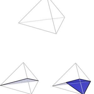 正四面体の分割