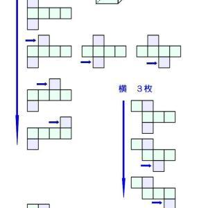 立方体展開図の分類
