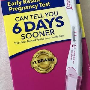 フライング検査 アメリカの早期妊娠検査薬は、5日前から使えるんです。
