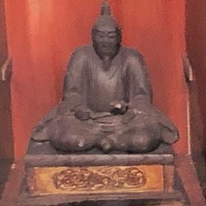 明智光秀 木像(明智光秀首塚・京都東山三条)