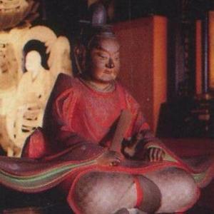 織田信秀 木像(大須万松寺)