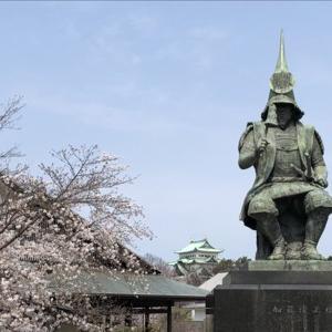 加藤清正(名古屋城正門前・名古屋能楽堂・桜満開編)
