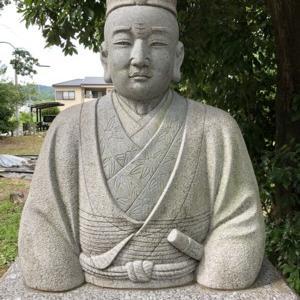 明智光秀・土岐光衡(一日市場八幡神社)