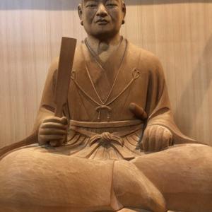 明智光秀 木像&石像(叡山坂本 西教寺&坂本城址公園)