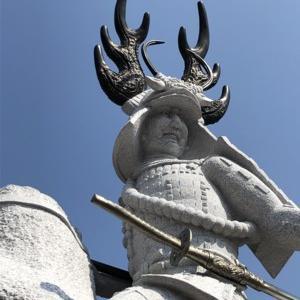 徳川四天王像(岡崎乙川桜城橋まとめ)