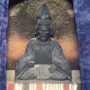 明智光秀 木像(福井東大味・明智神社(あけっつぁま)ふたたび)