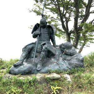 賤ヶ岳 無名武将像(賤ヶ岳古戦場)