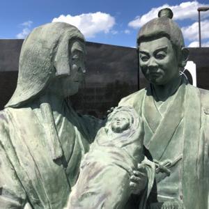 織田信秀・土田御前・吉法師(勝幡城跡・勝幡駅ふたたび)