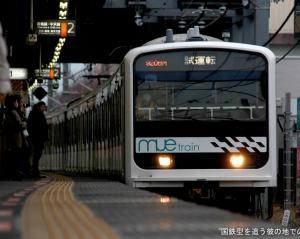 MUE train 青梅線試運転