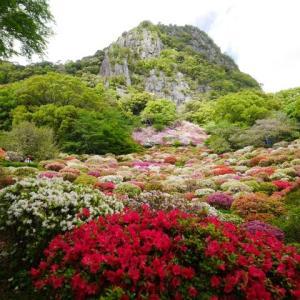 春の連休その1・御船山楽園はまさにこの世の楽園です