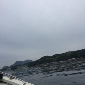 大黒神島 筏釣り!