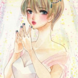 仙女で小悪魔♡禅問答的哲学的な『ホワイトドレスドプリンセス』