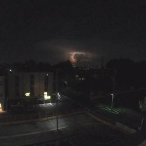 70km先の雷光 Thunder light 70km(43.5mi) away