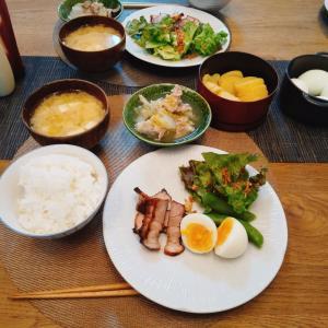焼豚・豚バラ白菜