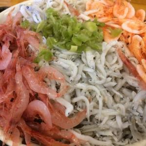 由比・桜えび / Sakura shrimp & whitebait