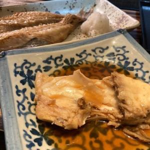 アコウダイの開き&マダイの煮付け / Rockfish & Red sea-bream