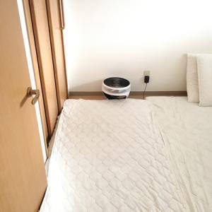 エアリーマットレスの枚数と、寝室の広さ