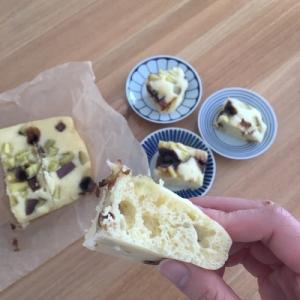 【簡単おやつ】ホットケーキミックスで、簡単蒸しパン(ヘルシオ)