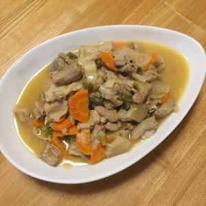 簡単に作る、柔らかなモツ煮(ホットクック)