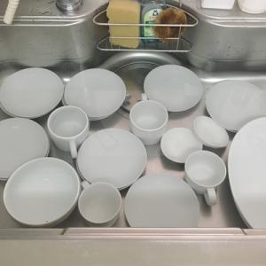 白い食器がくすんできたら、シンクで一度に大量漂白