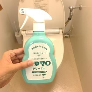 洗剤の種類を減らす。トイレ掃除もウタマロクリーナーに変えました