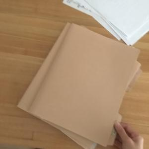 【無印良品】書類整理。ペーパーホルダーにどんどん重ねて、月1回整理