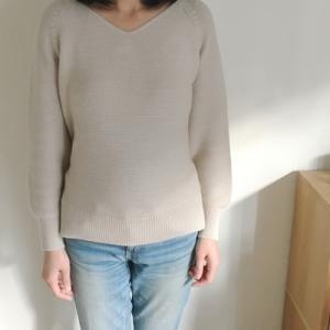 初売りで、久しぶりにセーターを買いました