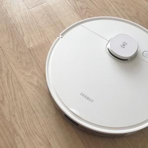 ロボット掃除機、ついにわが家に!ゴミ吸引とモップがけを一度の掃除でしてくれます
