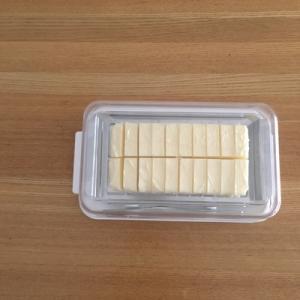 バターを使いやすくカットして保管!お気に入りのバターケース