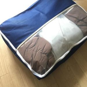 60㎡6人暮らしに助かる、羽根布団をコンパクトに保管できる収納ケース
