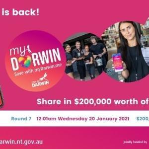 【コロナ経済支援】My Darwinがまたまた始まりますYO