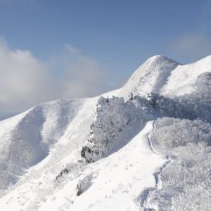 待望の降雪 白銀の藻琴山へ
