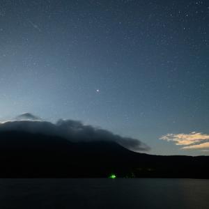 ペルセウス座流星群極大の夜