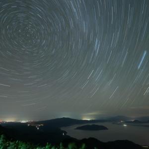 津別峠でオリオンを待ちながら星の色を撮る