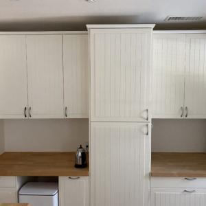 IKEA 食器棚 無垢のワークトップのメンテナンス!