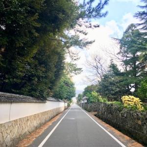 【12月6日  605日目 】歴史ある町 萩散歩 ♪(´ε` )